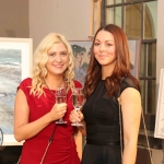 Pictured at the gala fundraiser for the upcoming Lavery/Osborne Symposium in the Hunt museum are Jennifer O'Gorman and Chloe Sheehan. Picture: Conor Owens/ilovelimerick.