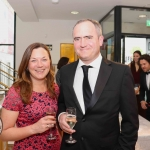 Pictured at the gala fundraiser for the upcoming Lavery/Osborne Symposium in the Hunt museum are Mariam and Colin Mahar. Picture: Conor Owens/ilovelimerick.