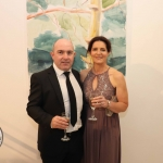 Pictured at the gala fundraiser for the upcoming Lavery/Osborne Symposium in the Hunt museum are Fionn and Claire Quinlivan. Picture: Conor Owens/ilovelimerick.
