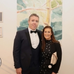 Pictured at the gala fundraiser for the upcoming Lavery/Osborne Symposium in the Hunt museum are Trevor and Jennifer Bowles. Picture: Conor Owens/ilovelimerick.