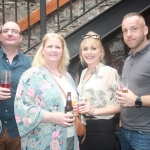 Barry Flynn, Claire Flynn, Rachael Collopy and Simon janiewski at the I Heart The Cranberries event as party of Limerick Pride 2018 in aid of Adapt House at Dolans Pub, Thursday, July 5th, 2018. Picture: Sophie Goodwin/ilovelimerick