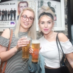 Leanne O'Leary and Roisin Currin at the I Heart The Cranberries event as party of Limerick Pride 2018 in aid of Adapt House at Dolans Pub, Thursday, July 5th, 2018. Picture: Sophie Goodwin/ilovelimerick