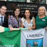 The  International Rose of Tralee tour visited Alex Findlaters restaurant in Limerick on August 15. Cllr Vivienne Crowley attended the event.  Photo: Zoe Conway/ilovelimerick