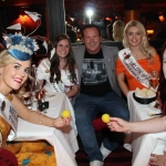 The  International Rose of Tralee tour visited Alex Findlaters restaurant in Limerick on August 15.   Photo: Zoe Conway/ilovelimerick