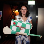 The  International Rose of Tralee tour visited Alex Findlaters restaurant in Limerick on August 15.  Hazel Ní Chathasaigh, Limerick Rose 2018 is wishing for the good luch of Limerick hurling at the final. Photo: Zoe Conway/ilovelimerick