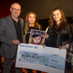 Melanie O'Donnell, 18, Limerick with her family who won third place at the Senior Ireland's Young Filmmaker of the Year Awards 2018 which took place at Odeon Cinema, Castletroy Limerick. Picture: Cian Reinhardt/ilovelimerick