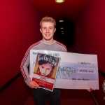 John, 17, winner of the Senior Ireland's Young Filmmaker of the Year Awards 2018 which took place at Odeon Cinema, Castletroy Limerick. Picture: Cian Reinhardt/ilovelimerick