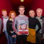 John, 17, winner of the Senior Ireland's Young Filmmaker of the Year Awards 2018 pictured with his family at Fresh Film Festival at Odeon Cinema, Castletroy Limerick. Picture: Cian Reinhardt/ilovelimerick
