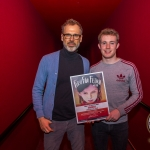 Richard Lynch, ilovelimerick pictured with John, 17, winner of the Ireland's Young Filmmaker of the Year Senior Award 2018 which took place at Odeon Cinema, Castletroy Limerick. Picture: Cian Reinhardt/ilovelimerick.