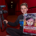 Luke, (15), Castletroy, Limerick winner of the RTE Factual Award at the Senior Ireland's Young Filmmaker of the Year Awards 2018 which took place at Odeon Cinema, Castletroy Limerick. Picture: Cian Reinhardt/ilovelimerick