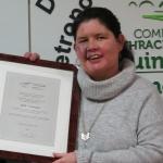 Julie Normoyle at Mayoral Reception 27-01-2018
