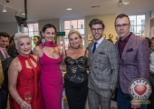 Pictured at the John McNamara Exhibition and Achievement Award at the Hunt Museum were Sinead Clohessy, Specsavers, Liz McNamara, Susan O Mara, Ennis Road, Darren Kennedy, Specsavers Ireland and Richard Lynch. Picture: Cian Reinhardt/ilovelimerick