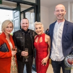 Pictured at the John McNamara Exhibition and Achievement Award at the Hunt Museum were Carol McKilligan, Specsavers, Will O'Brien, Be Fabulous, Sinead Clohessy, Specsavers, Barry Costello, Be Fabulous. Picture: Cian Reinhardt/ilovelimerick