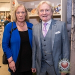Pictured at the John McNamara Exhibition and Achievement Award at the Hunt Museum were Katy Curry, Mike Curry of Adare. Picture: Cian Reinhardt/ilovelimerick
