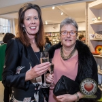Pictured at the John McNamara Exhibition and Achievement Award at the Hunt Museum were, Ciara Morirarty, Cork and Charlotte Eglington, Irish Chamber Orchestra. Picture: Cian Reinhardt/ilovelimerick