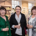 Pictured at the John McNamara Exhibition and Achievement Award at the Hunt Museum were Grainne O'Malley, Olive O'Callaghen, Nuala Reddan (Limerick). Picture: Cian Reinhardt/ilovelimerick