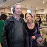 Pictured at the John McNamara Exhibition and Achievement Award at the Hunt Museum were David Fouhy, Maureen Fouhy of Ennis, Co. Clare. Picture: Cian Reinhardt/ilovelimerick