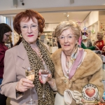 Pictured at the John McNamara Exhibition and Achievement Award at the Hunt Museum were Dorothy Cantrell, Gemma Wallace. Picture: Cian Reinhardt/ilovelimerick