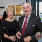 Pictured at the John McNamara Exhibition and Achievement Award at the Hunt Museum were Margret Dylan, Billy Peacocke. Picture: Cian Reinhardt/ilovelimerick