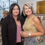 Pictured at the John McNamara Exhibition and Achievement Award at the Hunt Museum were Dee O'Rourke and Caroline Hurley. Picture: Cian Reinhardt/ilovelimerick