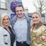 Pictured at the John McNamara Exhibition and Achievement Award at the Hunt Museum were Gillian McDonagh, Ciaran Murray, Louise Murray. Picture: Cian Reinhardt/ilovelimerick
