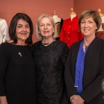 Pictured at the John McNamara Exhibition and Achievement Award at the Hunt Museum were Liz McNamara, Ann McNamara, Naomi O'Nolan, Curator of the Hunt Museum. Picture: Cian Reinhardt/ilovelimerick