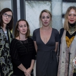 Pictured at the John McNamara Exhibition and Achievement Award at the Hunt Museum were Nuala McCarthy, Kerry, Eleanor Daly, Clare, Niamh Murray, Cork, Jane Eglington, Cork. Picture: Cian Reinhardt/ilovelimerick