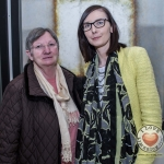 Pictured at the John McNamara Exhibition and Achievement Award at the Hunt Museum were Moira McCarthy and Nuala McCarthy, Mallow College. Picture: Cian Reinhardt/ilovelimerick
