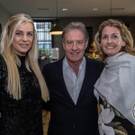 Pictured at the John McNamara Exhibition and Achievement Award at the Hunt Museum were Mary Jackman Edwards, Ger Lee, Catherine Hodgins. Picture: Cian Reinhardt/ilovelimerick