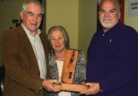 Bridge winners John McNamara and Pádraig Gallagher with Bridge Congress President Anne Hughes .jpg