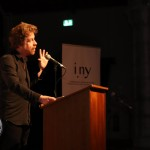 Pictured at the I.NY event Kevin Barry: In the New Yorker held at Dance Limerick on Friday, October 18, 2019. Pictures: Anthony Sheehan/ilovelimerick