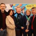 Pictured at Kilmartin's Coffee Morning is Richard Lynch, Founder of I Love Limerick, Mary Madden, CARI, Julie Kilmartin, Kilmartin's Educational Center, Mary Fagan, Children's Grief Centre, and Fergal Deegan, Limerick Leader at Kilmartin Educational Services center on Friday, November 1. Picture: Kate Devaney/ilovelimerick.
