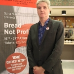 Pictured at the Launch of Gúna Nua Theatre Company's new production 'Bread Not Profits' at the Belltable arts venue. Picture: Orla McLaughlin/ilovelimerick.