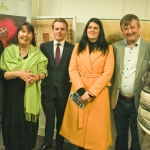 2017-03-20 Launch at the Red Door Gallery, Newcastle West, of Eigse Michael Hartnett 6th, 7th and 8th April 2017 PHOTOGRAPHY: DERMOT LYNCH Members of ther committee Eigse Michael Hartnett, John Cussen, Norma Prendeville, Rossa McMahon, Rachael Lenihan and Vicki Nash