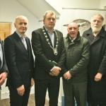 2017-03-20 Launch at the Red Door Gallery, Newcastle West, of Eigse Michael Hartnett 6th, 7th and 8th April 2017 PHOTOGRAPHY: DERMOT LYNCH Limerick City and County Arts Officer Sheila Deegan with, Cllr Liam Galvin, Cllr Seamus Browne, Cllr John Sheahan, Cllr Francis Foley and Cllr Jerome Scanlon