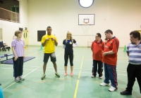 Special Olympics games video shoot for I love Limerick.