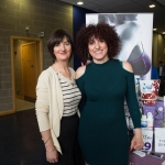 01.04.2017 REPRO FREE Limerick Lifelong Learning Festival, Mary Immaculate College Limerick. Pictured at the event were, Ellen O'Mahony and Anna Rooney. Picture: Alan Place.