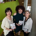 01.04.2017 REPRO FREE Limerick Lifelong Learning Festival, Mary Immaculate College Limerick. Pictured at the event were, Ellen O'Mahony, Anna Rooney and Brid Burke. Picture: Alan Place.
