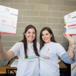01.04.2017 REPRO FREE Limerick Lifelong Learning Festival, Mary Immaculate College Limerick. Pictured at the event were, Alison Ahern and Niamh McMahon, UL Aboard 2017. Picture: Alan Place.