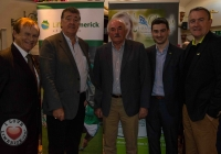 John Loftus, Comericial Manager of Limerick G.A.A, Frank Hogan, Mercedes Limerick, Sean Scanlan, Chairman of Lifting Limerick, Liam Ahern, 95 fm, Brendan Ring, CEO Cliona's Foundation.