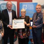 Mrs. Francis O'Donoghue from Kildimo, Co. Limerick won Limerick Carer of the Year 2019 from Family Carers Ireland at the Absolute Hotel on Friday, November 8, 2019. Picture: Kate Devaney/ilovelimerick.