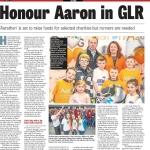 Limerick Chronicle Column 5 April 2016