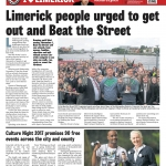 Limerick Chronicle Column Tuesday September 19 pg 46 I Love Limerick