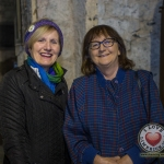 Cllr Marian Hurley, Deputy Mayor of Limerick pictured with Mary O'Reilly-Glenn, Castletroy pictured at the Autumn Lecture Series with Limerick Civic Trust. Picture: Cian Reinhardt/ilovelimerick