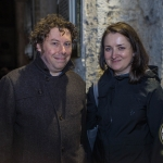 Radek Cerny, Barrington Street and Sarah Newell, O'Connell Stret pictured at the Autumn Lecture Series with Limerick Civic Trust. Picture: Cian Reinhardt/ilovelimerick