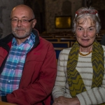 Pictured at the Limerick Civic Trust Autumn Lecture with Stephen Green at St Mary's Cathedral were  Joe Lynch, Castletroy and Mairead Linnane, Co. Clare. Picture: Cian Reinhardt/ilovelimerick