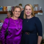 Pictured at the Limerick Civic Trust Ladies Lunch were Catherine Dundon and Elisa McMahon, Dundon-Callanan Solicitors. Picture: Cian Reinhardt/ilovelimerick