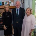 Pictured at the Limerick Civic Trust Ladies Lunch were Geraldine Power, Bruff with Brian McLoghlin and Liz Griffin, Limerick Civic Trust. Picture: Cian Reinhardt/ilovelimerick