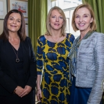 Pictured at the Limerick Civic Trust Ladies Lunch were Hilda Dolan, Bank of Ireland, Edwina Gore, Gore Communications and Maria Kelly, Bank of Ireland. Picture: Cian Reinhardt/ilovelimerick