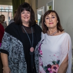 Pictured at the Limerick Civic Trust Ladies Lunch were Valerie Dolan, Dolans with Rosaleen Bolger, Corbally. Picture: Cian Reinhardt/ilovelimerick